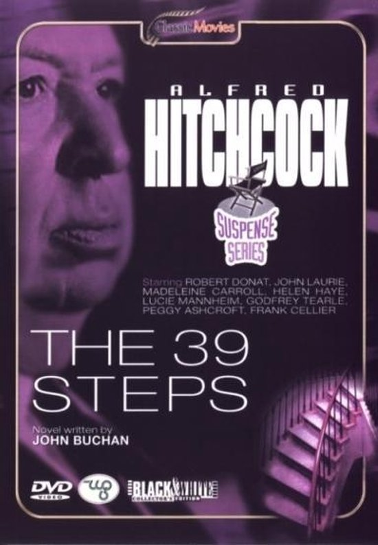 Cover van de film '39 Steps'