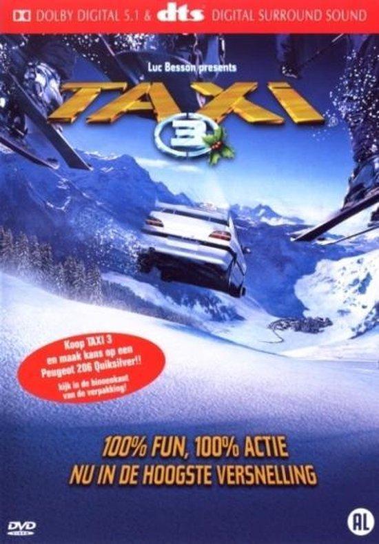 Cover van de film 'Taxi 3'
