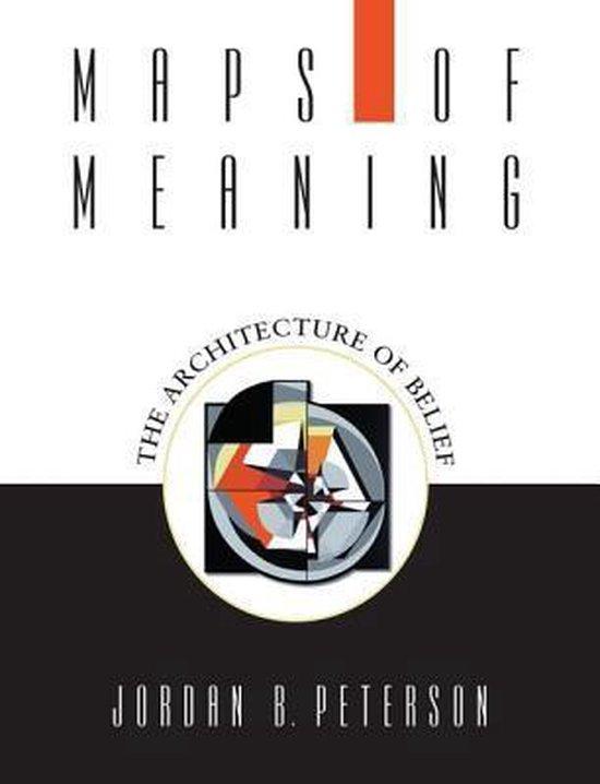 Boek cover Maps of Meaning van Jordan B. Peterson