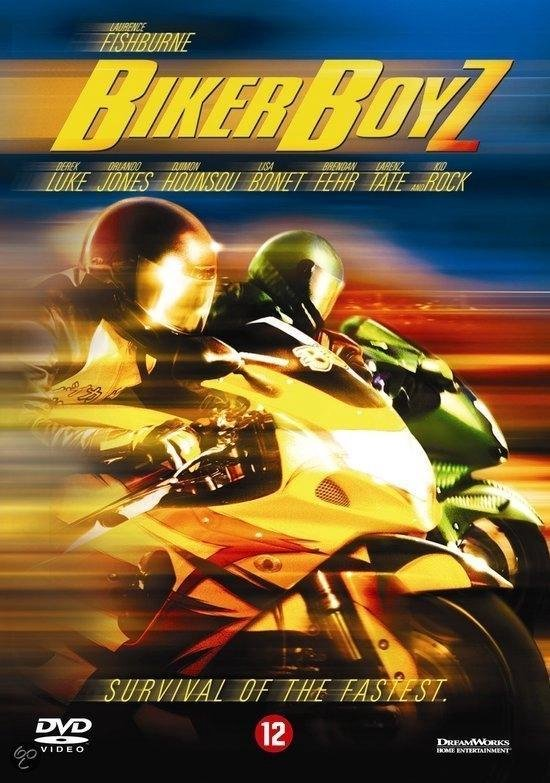 Cover van de film 'Biker Boyz'