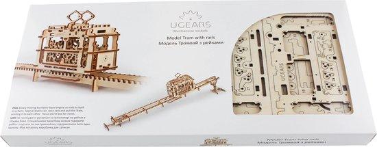 Ugears - Houten Modelbouw - Tram