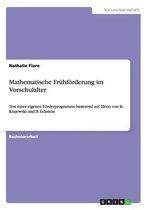 Mathematische Fruhfoerderung im Vorschulalter