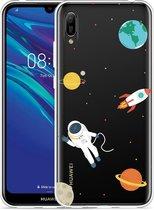 Huawei Y6 2019 Hoesje Astronaut
