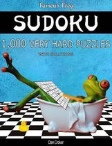 Famous Frog Sudoku 1,000 Very Hard Puzzles with Solutions
