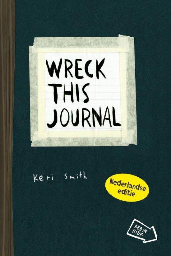 Boek cover Wreck this journal van Keri Smith