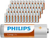 Philips Longlife batterijen - 48 stuks-AA