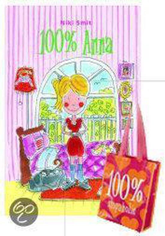 Cover van het boek '100 % Anna + tas' van N. Smit