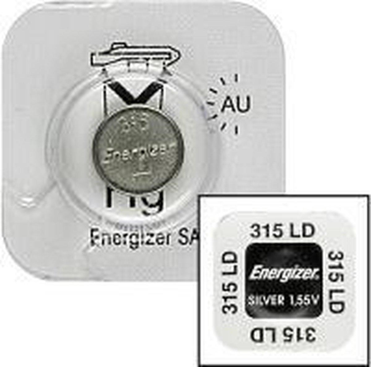 Energizer 315 Single-use battery Zilver-oxide (S) 1,55 V - Energizer