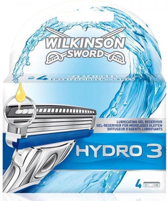 Wilkinson hydro 3 mesjes 4st