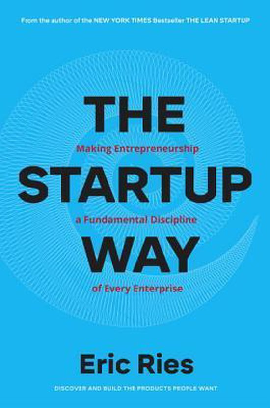 Boek cover The Startup Way van Eric Ries (Hardcover)