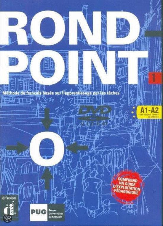 Cover van het boek 'Rond-Point 1 DVD 1 dvd'