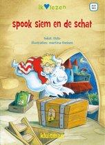 Ik ♥ lezen  -   Spook Siem en de schat