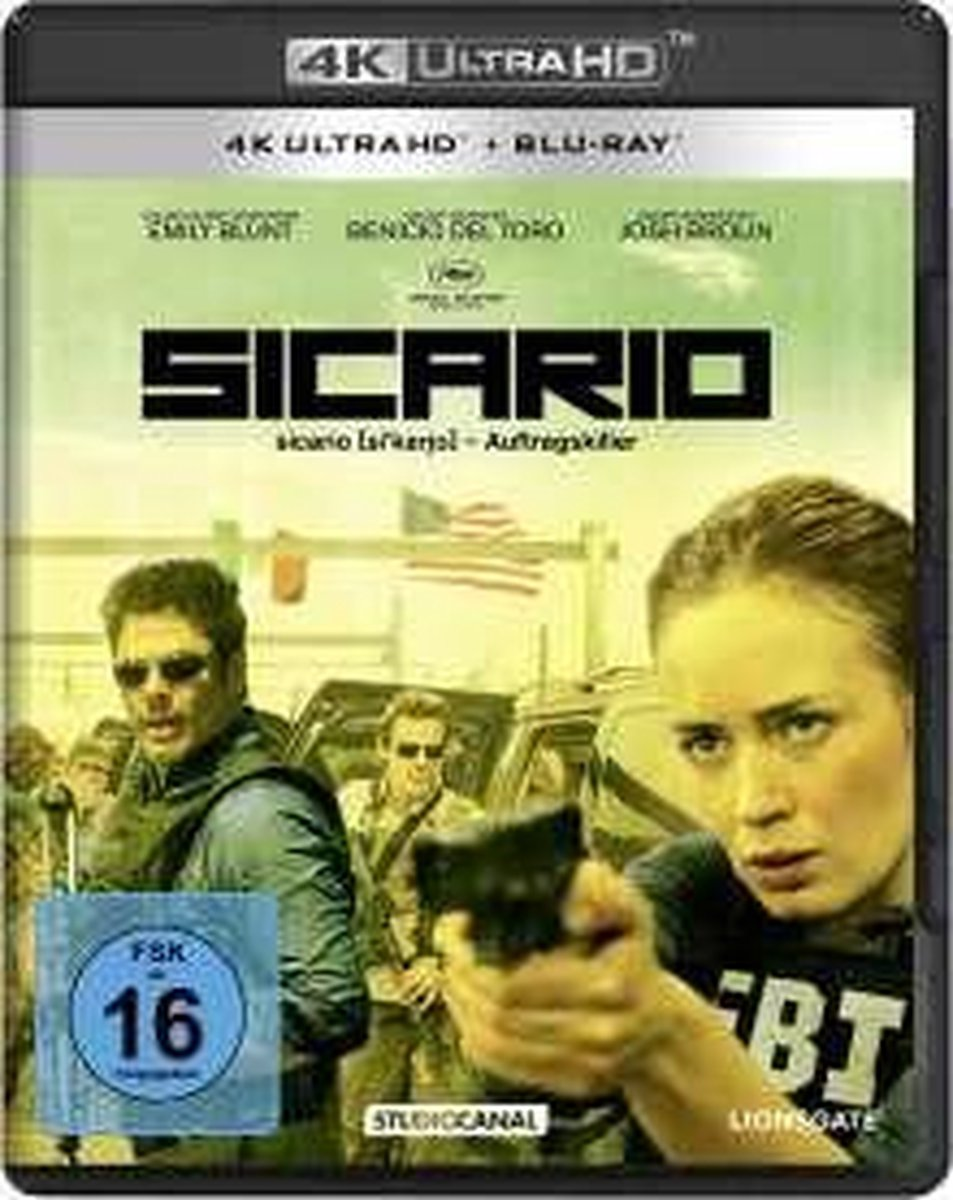 Sicario (Ultra HD Blu-ray & Blu-ray)-