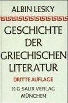 Boek cover Geschichte der griechischen Literatur van Albin Lesky