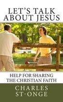 Boek cover Lets Talk about Jesus van Charles St-Onge