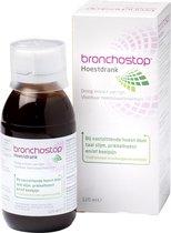 Bronchostop Hoestdrank -  helpt bij vastzittende hoest, kriebel- en prikkelhoest en keelpijn - 120ml