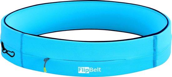 Flipbelt Rits Lichtblauw - Running belt - Hardloopriem - XS