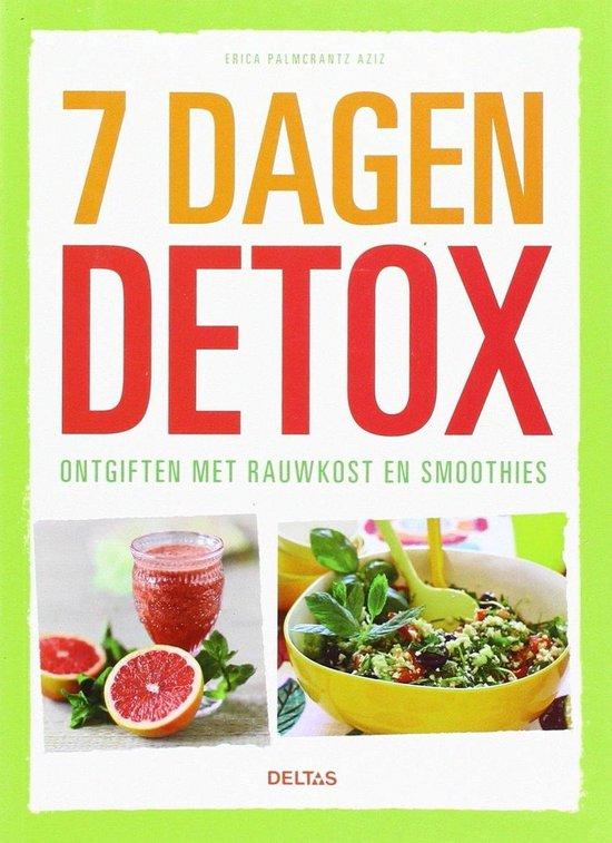 Boek cover 7 dagen detox van Erica Palmcrantz Aziz