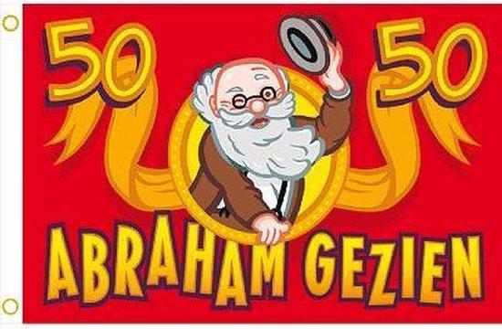 Spiksplinternieuw bol.com | Vlag Abraham 50 jaar GQ-89