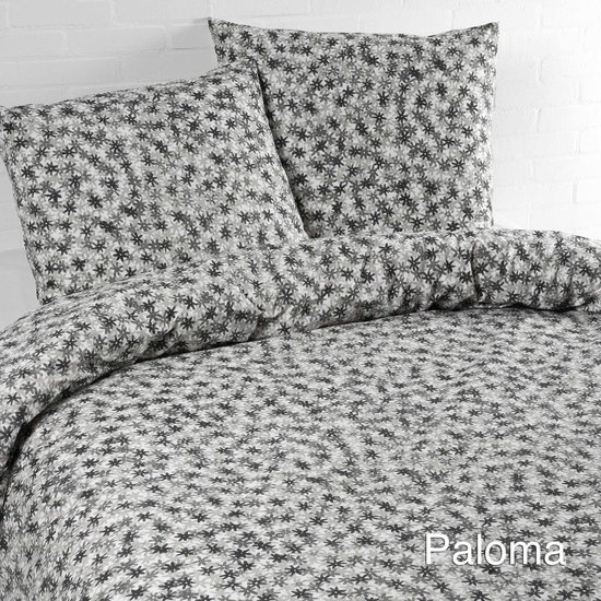 Day Dream Paloma - dekbedovertrek - lits-jumeaux - 240 x 200/220 - Grijs