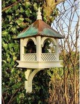 Vogelvoederhuisje - Lichtgroen - 28 cm x 28 cm x 43 cm