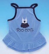 Nobby Hondenjurkje Too Cute - Blauw - 35 cm