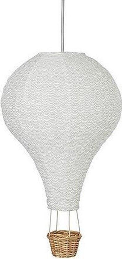 Camcam - luchtballon lamp - grey wave