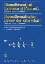 Omslag Biomathematical Evidence of Paternity / Biomathematischer Beweis der Vaterschaft