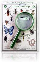 3 BMT vergrootglas voor kinderen insectenloep - vergroot 3x
