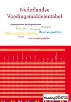 Boek cover Nederlandse voedingsmiddelentabel van Stichting Voedingscentrum Nederl