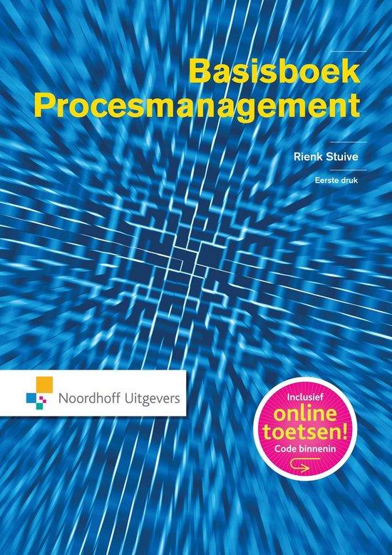 Boek cover Procesmanagement van Rienk Stuive