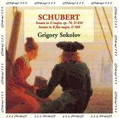 Schubert: Sonatas in G major and B flat major / Sokolov