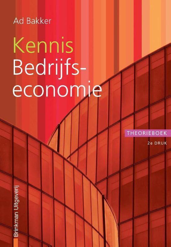 Financiële beroepen - Kennis bedrijfseconomie - Ad Bakker |
