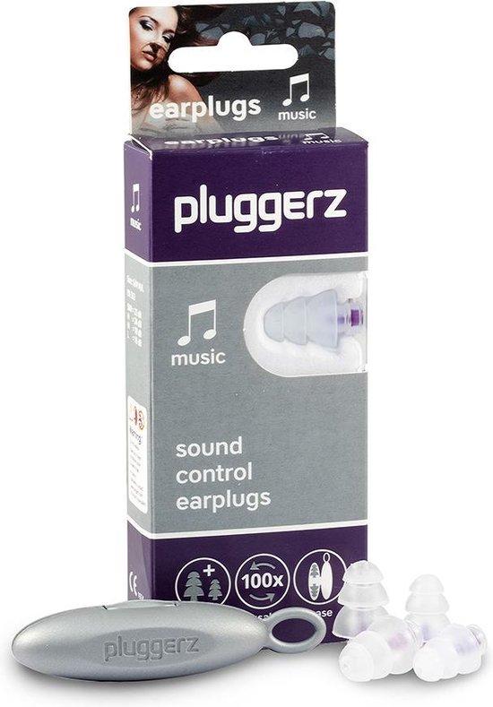 Pluggerz earplugs music - Oordoppen voor muziekliefhebbers - Veilig genieten van muziek