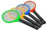 Oplaadbare Elektrische Vliegenmepper Stopcontact - Jumbo Elektronische Hand Vliegenvanger - Anti Vliegen Doder Wespenvanger - Muggenvanger