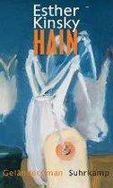 Boek cover Hain van Esther Kinsky (Hardcover)