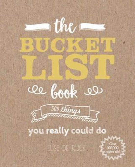 Afbeelding van The Bucket List Book