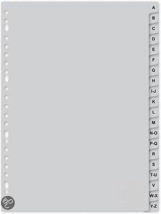Blake Tabbladen met alfabet ABC A t/m Z - A4 - 23 ringen