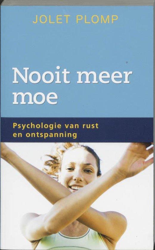 Nooit Meer Moe - Jolet Plomp pdf epub