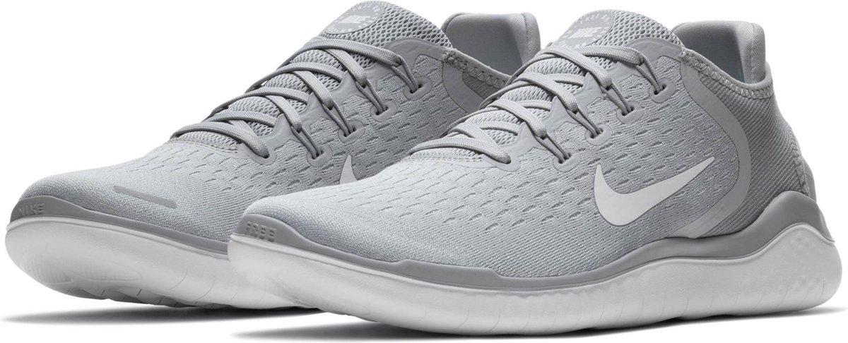 bol.com | Nike Free Rn 2018 Sneakers Heren - Wolf Grey/White ...