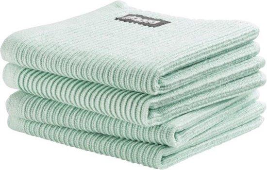 DDDDD vaatdoek Basic Clean pastel green (30 x 30 cm) per 4 stuks