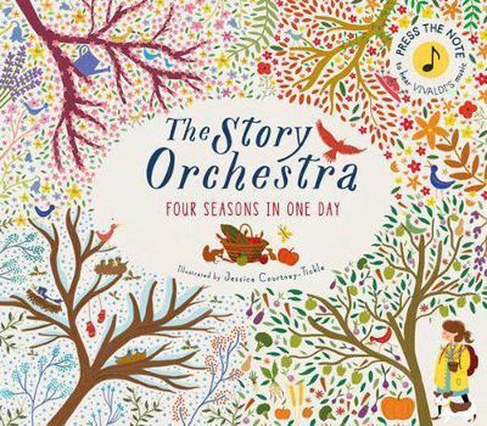 Boek cover The Story Orchestra: Four Seasons in One Day van Katie Cotton (Hardcover)