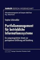 Portfoliomanagement Fur Betriebliche Informationssysteme