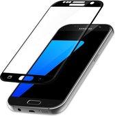 Samsung Galaxy S7 Full Cover Glazen Screenprotector - Zwart