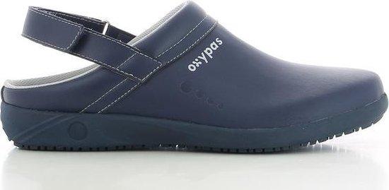 OXYPAS REMY : Professionele slipper in leder - Maat 40