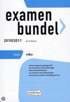 Examenbundel  / Havo M&O 2010/2011