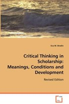 Critical Thinking in Scholarship