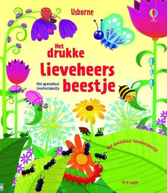 Drukke lieveheersbeestje - Schrijver |