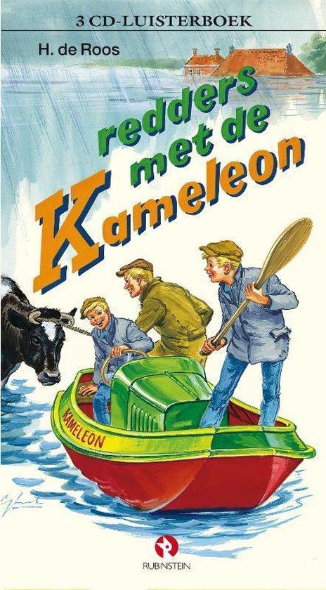 Redders met de kameleon (luisterboek) - H De Roos |