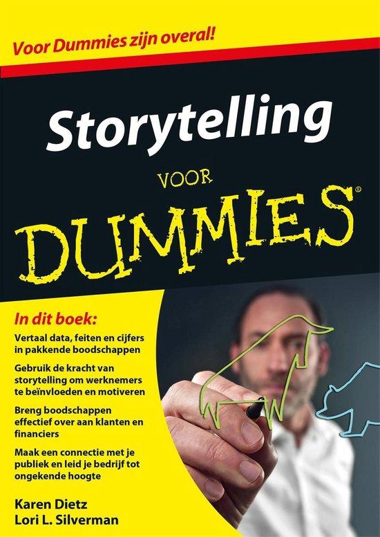Voor Dummies - Storytelling voor Dummies - Karen Dietz |